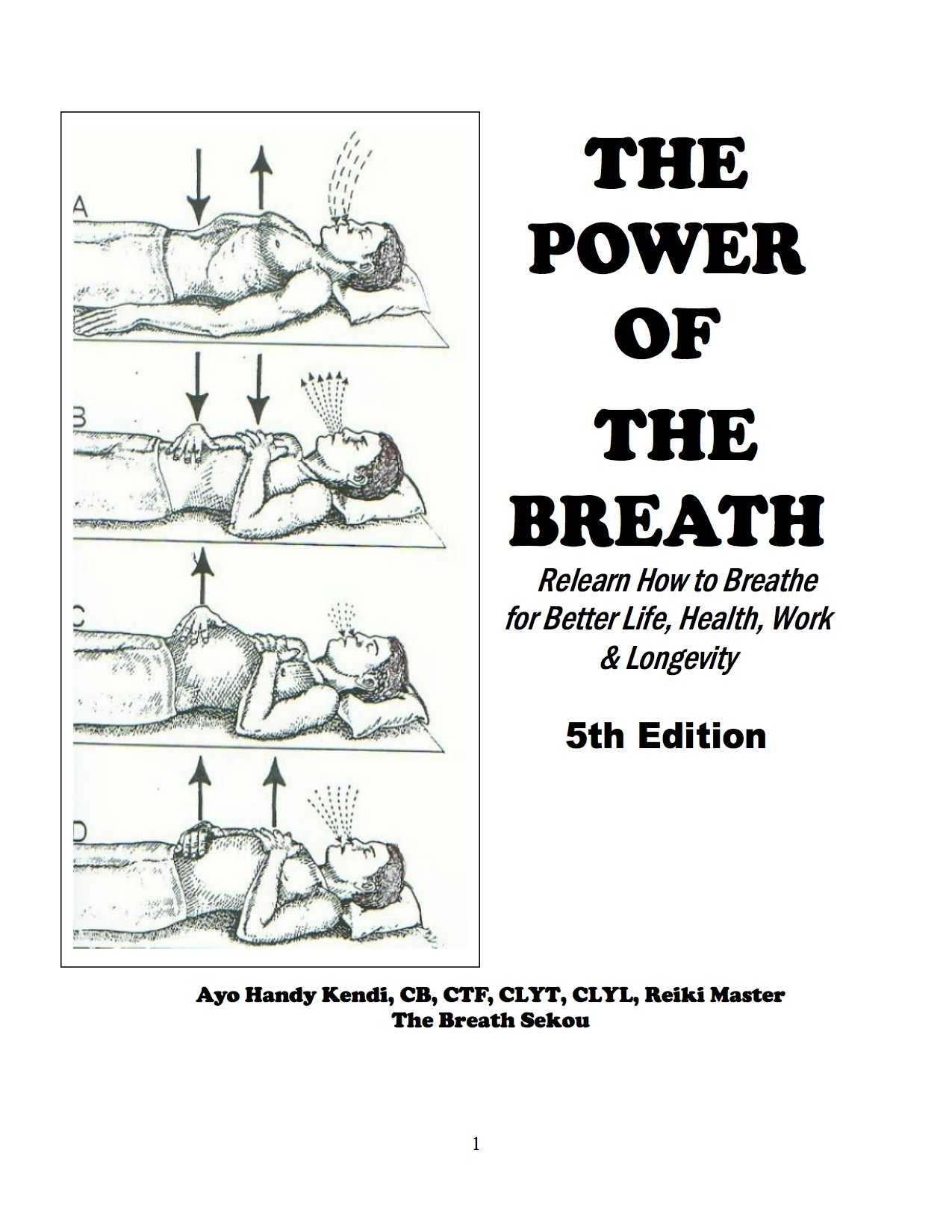 The Power Of The Breath 5th ed  (E-Book) by Ayo Handy-Kendi